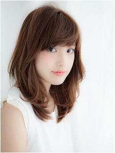 medium layered hair Japanese Haircut Japanese Hairstyle Japanese Perm Medium Layered Hair