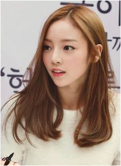 Kara Goo Hara hair Korean Hair Medium Long Asian Hair Korean Medium Hairstyles