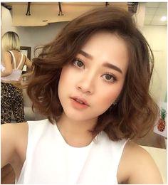 truoghoagmaianh More Korean Perm Short Hair