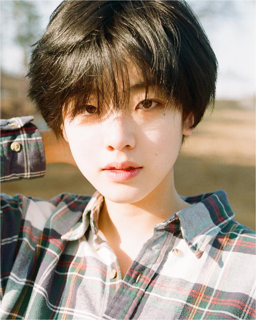 Korean Short Hair for Men Hairstyle for asian Hair Male Beautiful tomboy Haircut 0d tomboy