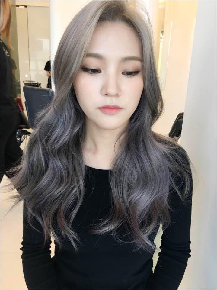 Korean Student Hairstyle Korea Korean Kpop Idol Actress 2017 Hair Color Trend for Winter Fall