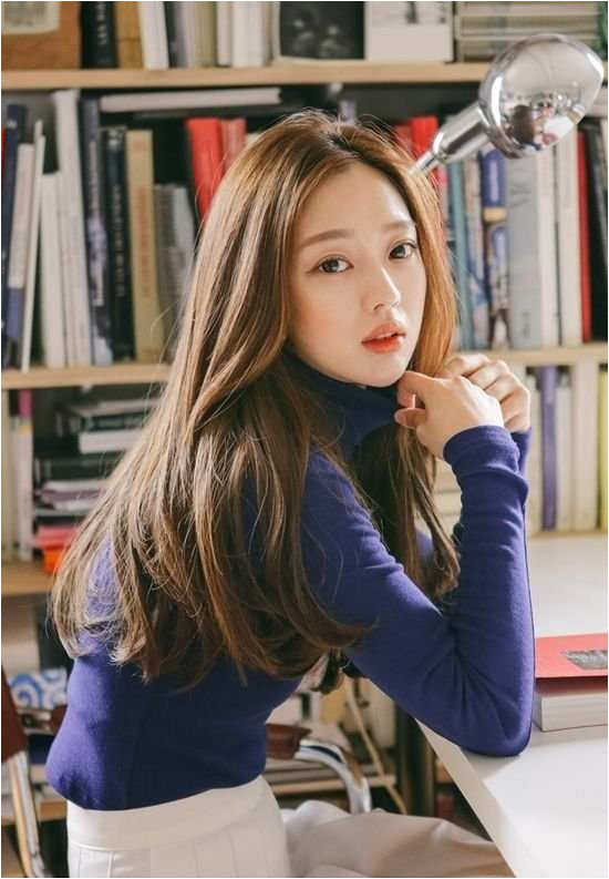 Korean Hairstyles Girl Elegant Hair Coloring Ideas For You With Enchanting Asian Haircut 0d Toward