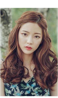 curly hair cut in korea 1000 ideas about korean