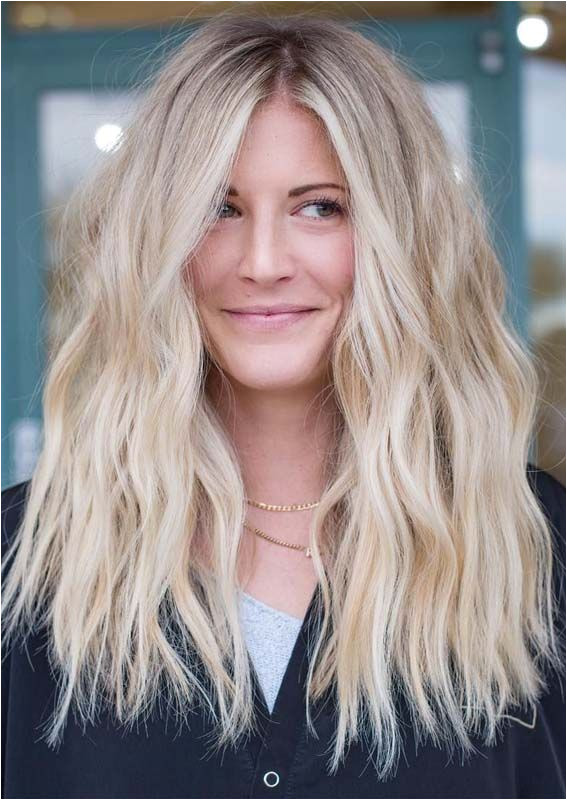 See here the gorgeous ideas of long balayaged hairstyles for la s of every age group