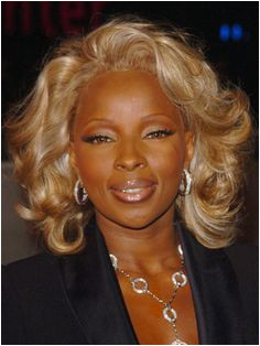 Mary J Blige Hairstyles Blonde Weave Hair Affair Celebrity Hairstyles Natural Hair