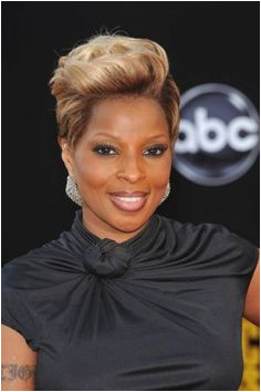 Mary J Blige Short Hairstyles More Short Relaxed Hairstyles Cute Hairstyles Black Girls Hairstyles