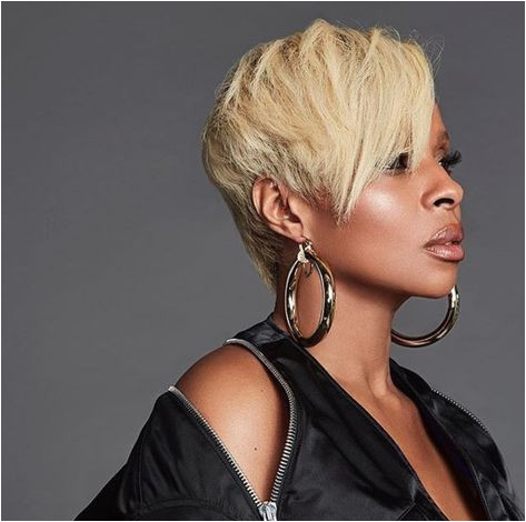 Mary J Blige Hairstyles 2019 Mary J Blige