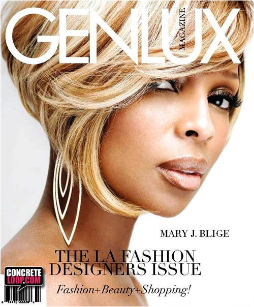 MARY J BLIGE COVERS GENLUX MAGAZINE Short Haircuts Short Hairstyles Sassy Haircuts