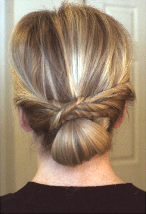 hair bun style