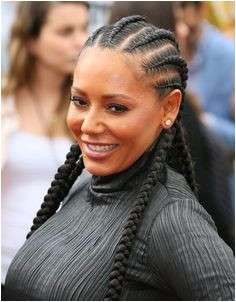 """Melanie Brown s Singer Mel B attends the premiere of """"The Angry Birds Movie"""