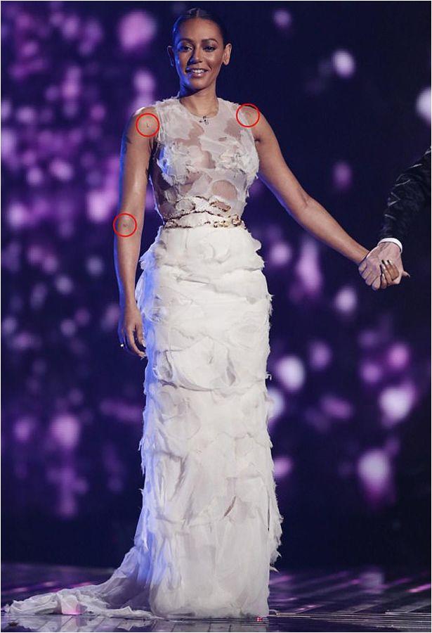 Mel B on the X Factor