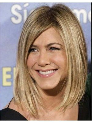 Jennifer Aniston Medium Bob Hair Wig bobhaircuts