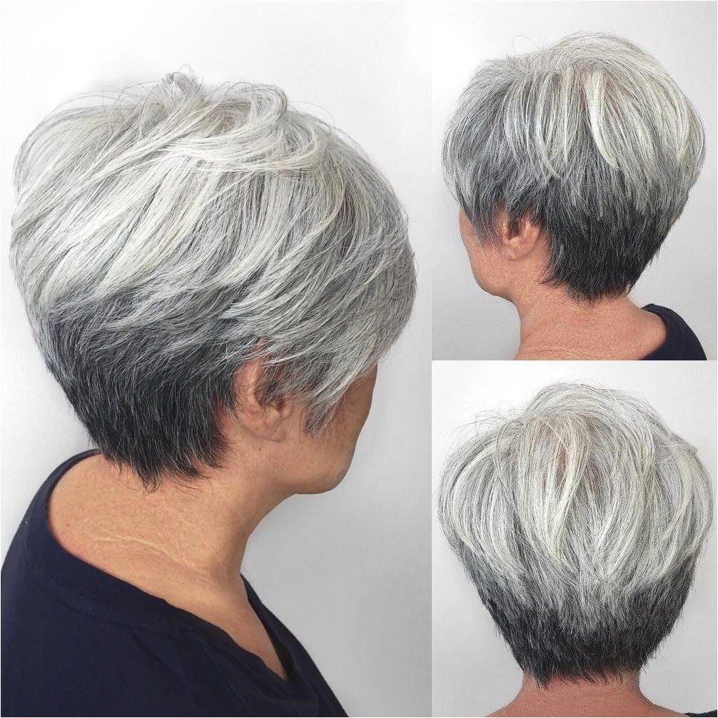 80 Best Modern Haircuts and Hairstyles for Women Over 50 Woman HairstylesShort Gray