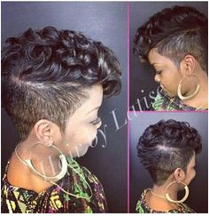 Love this mohawk Short Hair Cuts Short Hair Styles Natural Hair