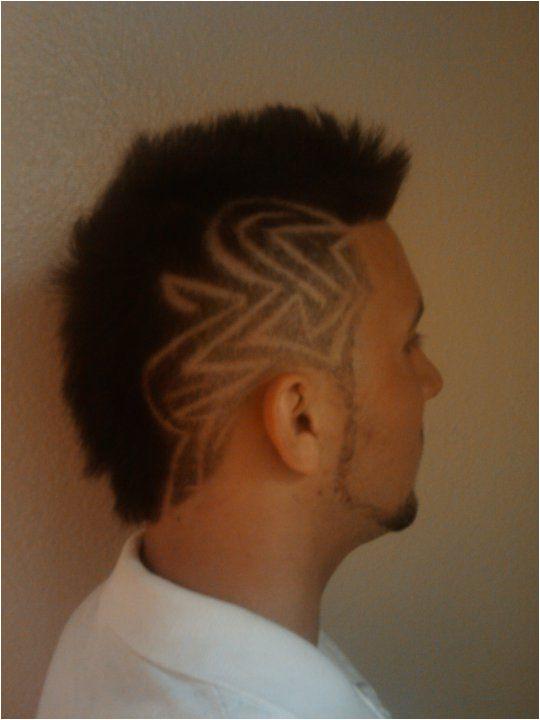 mohawk design antonettish4m antonettis longbeachbarber menshair barber longbeach hair orangecounty oc la losangeles traditionalbarber