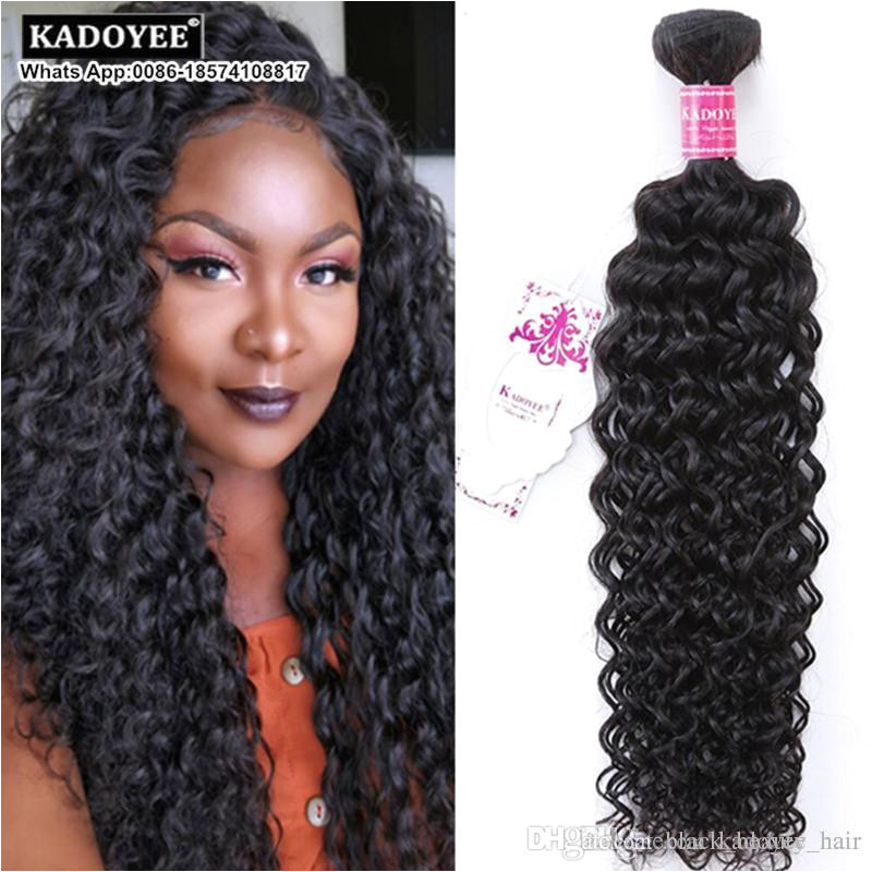 Jerry Curl Unprocesssed Brazilian Human Hair Weave Weft Afro Kinky Jerry Curl Two Tone Brazilian Natural Black Hair For Black Woman US UK