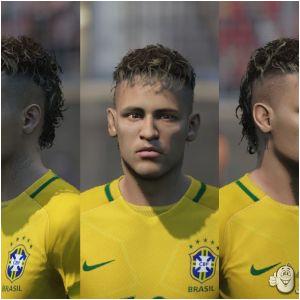 Nba 2k14 New Hairstyles Download Neymar Jr Face 18 to 15 Conversion Fifa 15 at Moddingway