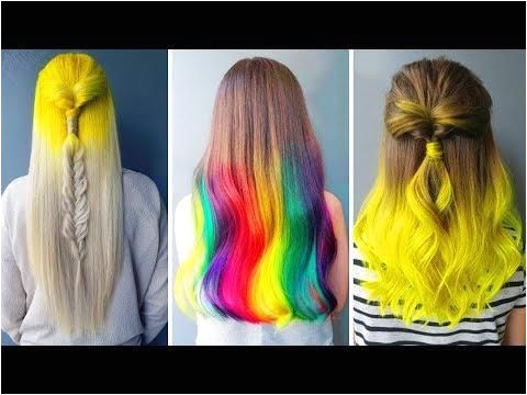 New Haircut And Color Transformation Beautiful Hairstyles pilation 2018