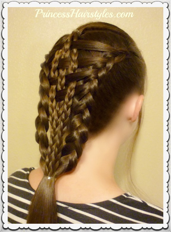 Easy Girl Hairstyles Step by Step Lovely Easy Do It Yourself Hairstyles Elegant Lehenga Hairstyle 0d