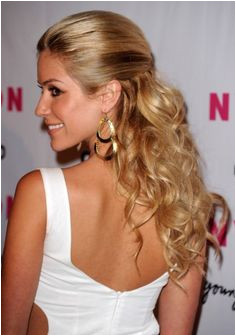 Kristin Cavallari Half Up Half Down Kristin Cavallari Hair StyleBistro