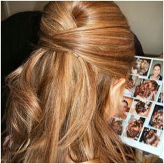 bridemaids hair half up straight Classy Hairstyles Holiday Hairstyles Popular Hairstyles