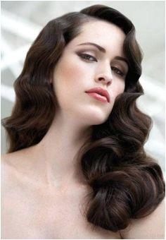 Best Finger Wave Vintage Hairstyle FingerWaveWedding FingerWaveUpdo Vintage Hairstyles For Long Hair Bridal