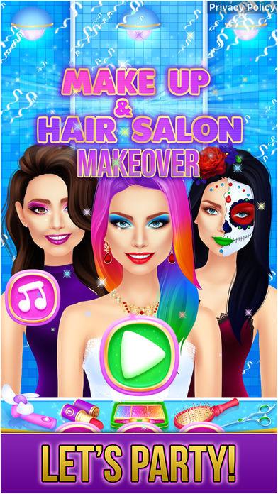 Make Up & Hair Salon Makeover