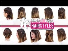 10 Quick And Easy Hairstyles For Short Hair
