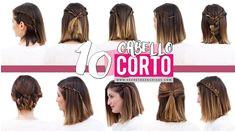 10 peinados fáciles para cabello corto o media melena
