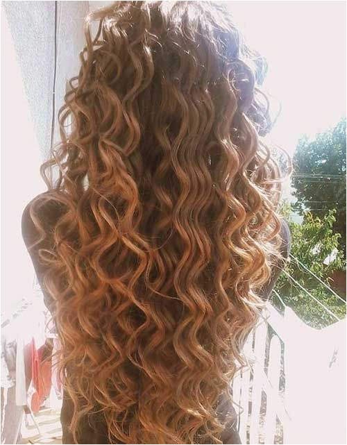 Perms For Long Hair Permed Long Hair Curly Hair With Wand Curly Hair