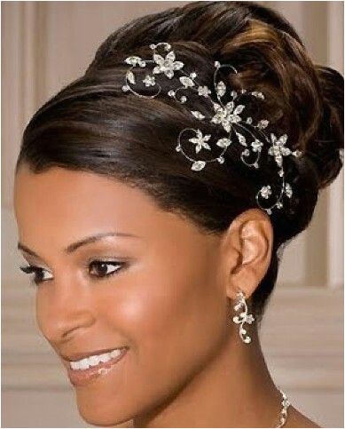 Updo with tiara