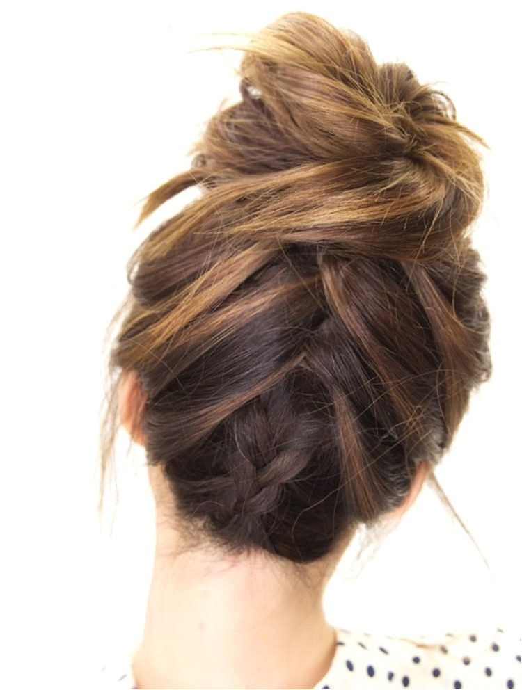 This Summer s Must Try Messy Buns According to Pinterest