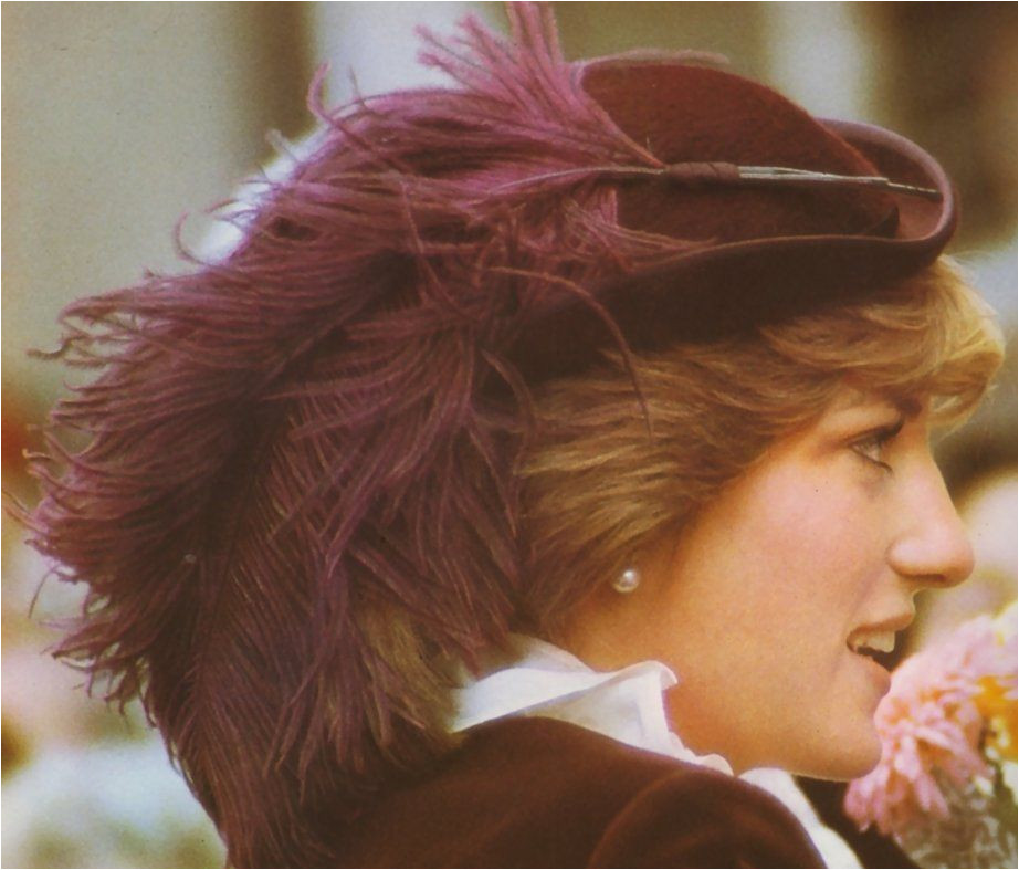 Dressing Diana The Way She Wore Her Hat early 80s