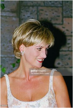 Diana Princess of Wales at the pre auction party at Christie s New York