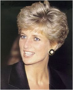 Get Princess Diana s style by keeping the majority of your hair a few inches long then cutting bangs that hit just brush your eyebrows