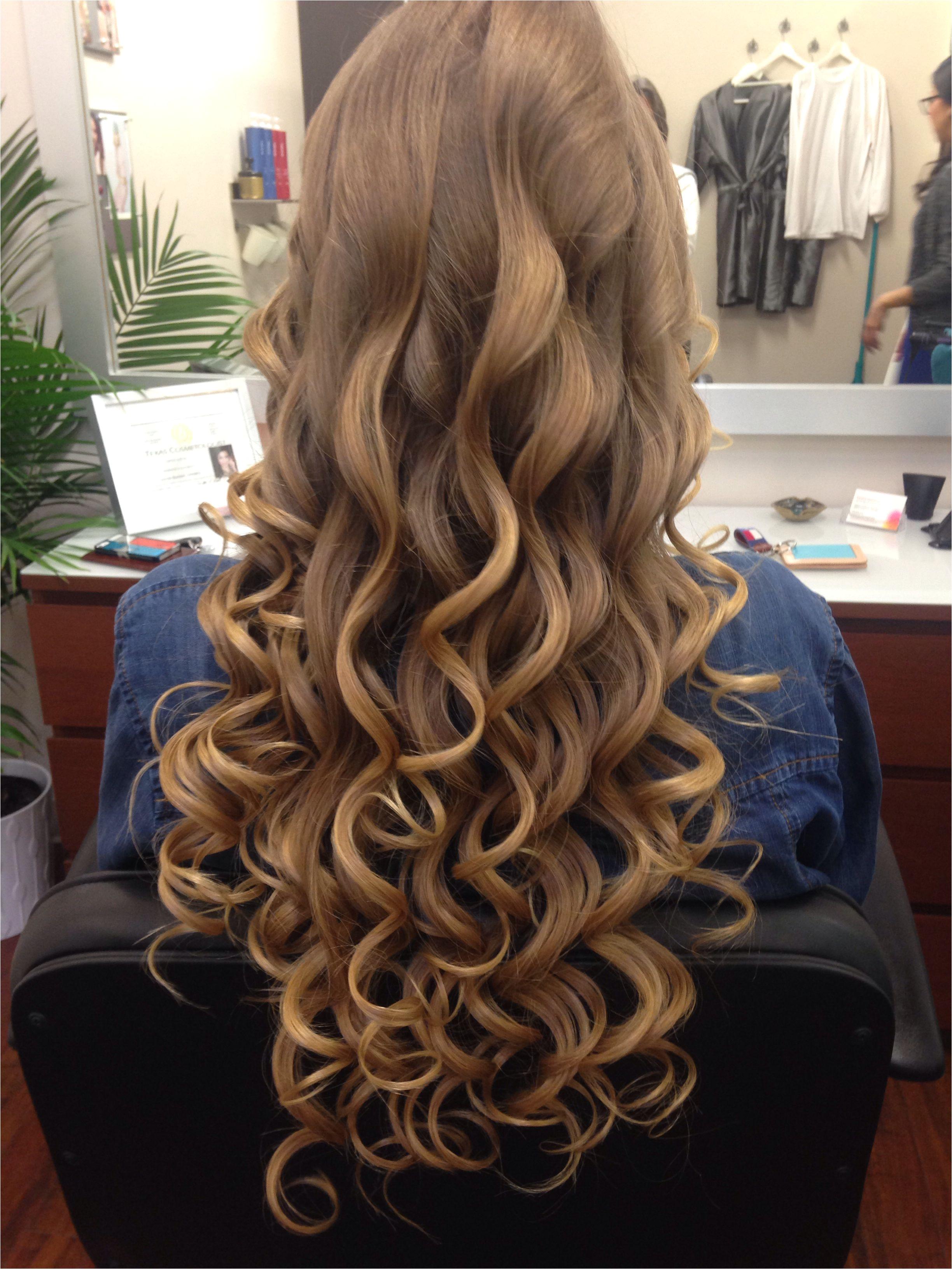 Prom hair Formal Hairdos Formal Hairstyles Down Hairstyles Long Loose Curls Let