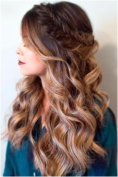 24 Easy Long Hairstyles For Valentine s Day Prom Hairstyles For Long Hair Half UpHome ing Hairstyles DownProm