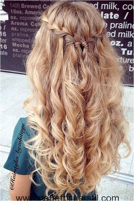 Prom Hairstyles Loose Curls Curly and Wavy Hairstyles are Usually Very Popular whether Long or
