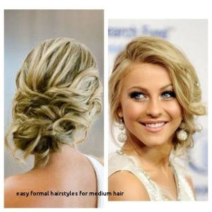 Prom Hairstyles Side Buns Easy formal Hairstyles for Medium Hair Cute Easy Fast Hairstyles