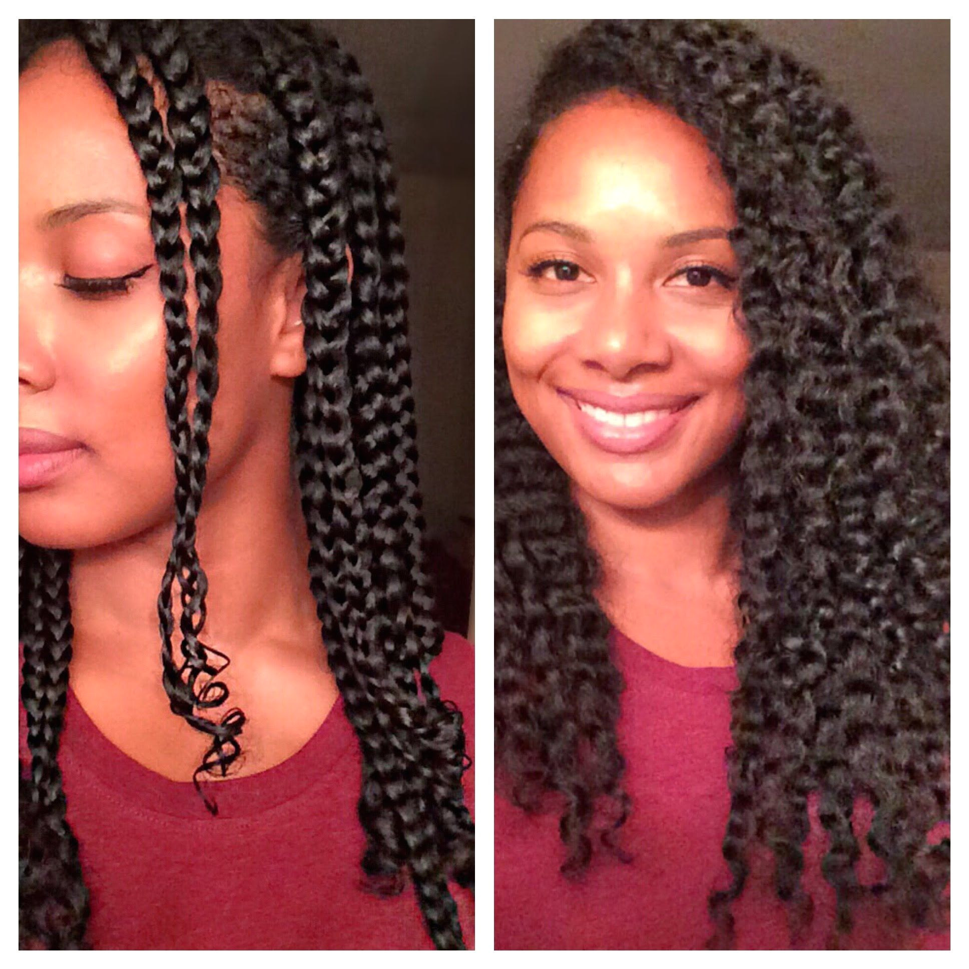 Protective Hairstyles Definition Natural Hair L Defined Braid Out Hair Obsession