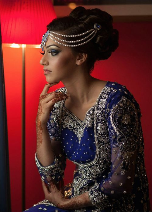 Indian Wedding Updo Hairstyle 2