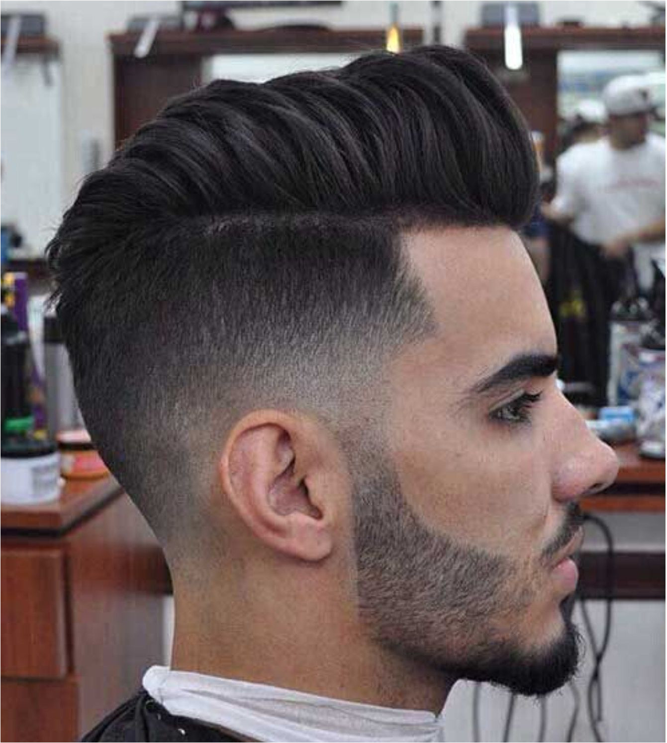Trendy short haircut all that s missing here is a highly defined part line men s hairstyles 2015 2016