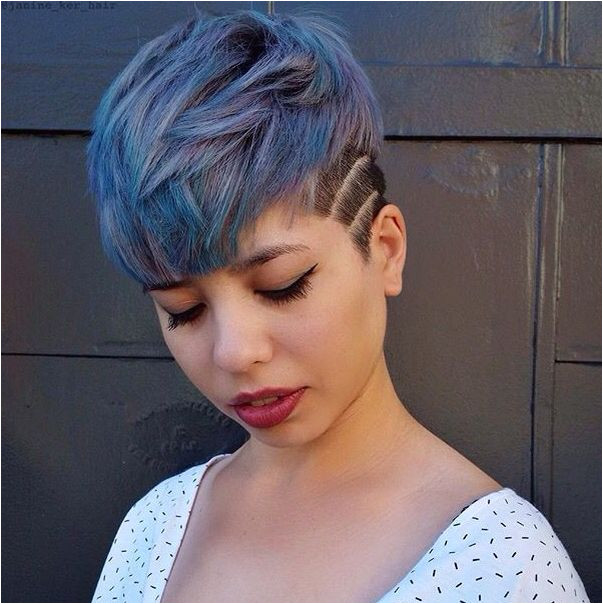 Denim blue and purple hair Hair color and cuts