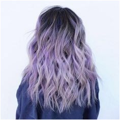 "GetCURLD on Instagram ""Purple is the new black💜 We looove this lilac hair color by loeeann 😍 The dark roots totally made this look have an edgier"