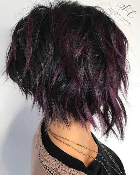 20 Latest Short Choppy Haircuts for Textured Style 12 Dark and Red Hair