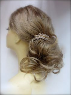 Gold Hair b Weddings Bridal Gold Hair Leaf With or Without Pearls