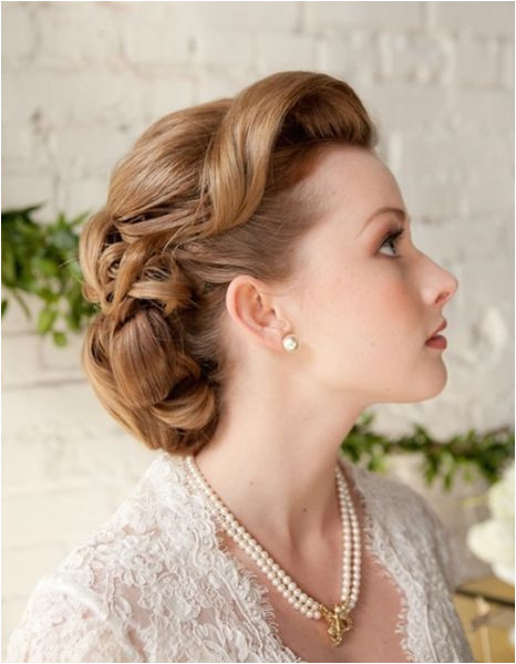 1950 s wedding hairstyle I would love to see the rest of this by chasity