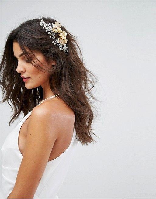 LoveRocks London Leaf & Rhinestone Wire Hair b Wedding Planner Pinterest