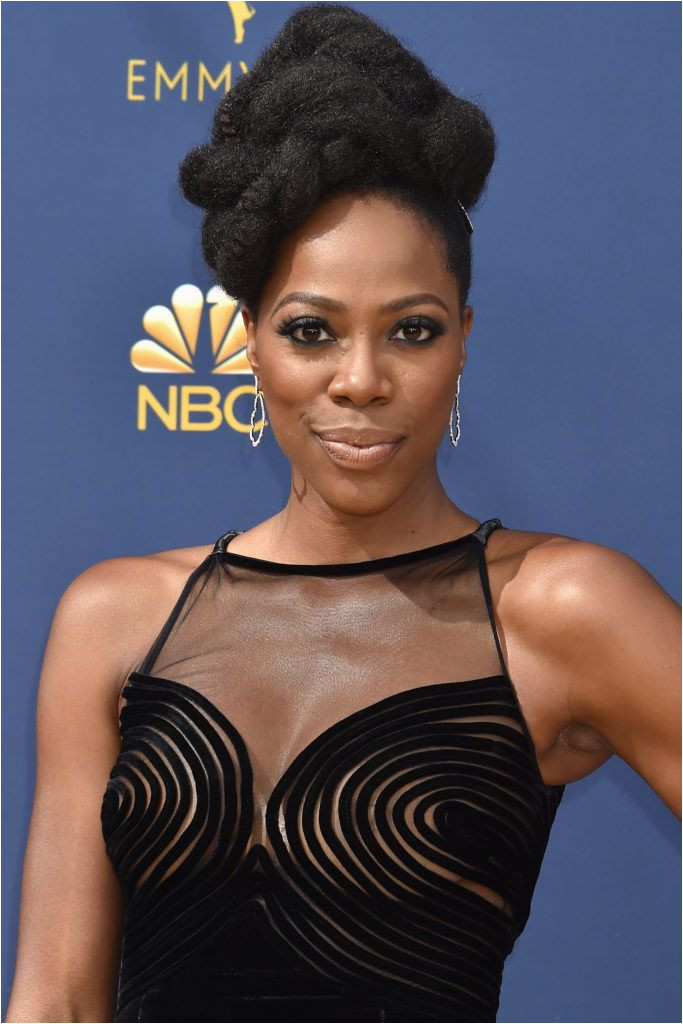 Yvonne Orji Woman Movie Her Style Cool Hairstyles Red Carpet Queens