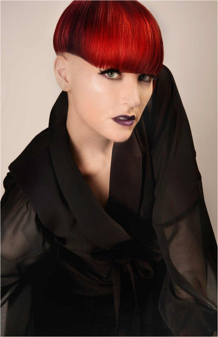 Red Hairstyles and Cuts 1